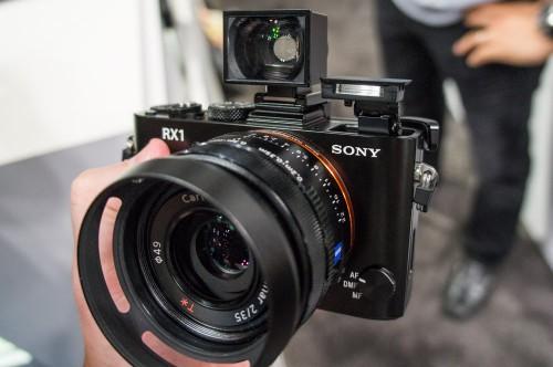 Sony RX1 w/ Lens Hood