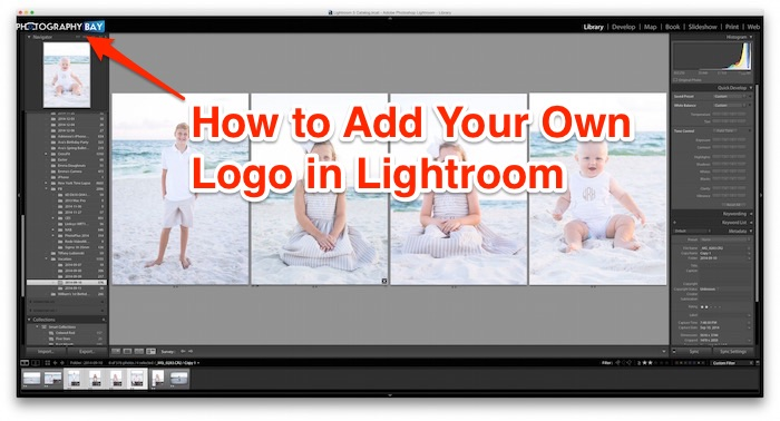 How to Add Your Own Logo to Lightroom
