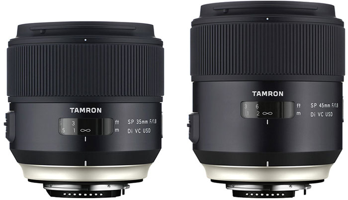 Tamron Unveils New Prime Full Frame Lenses With Image