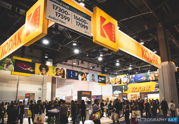 Kodak Booth at CES 2019