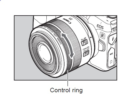 Canon Offers De-Click Service for RF Lens Control Rings