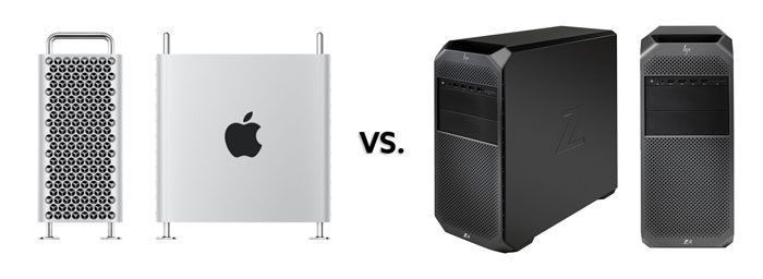 2019 Apple Mac Pro vs  HP Z-Series Workstations