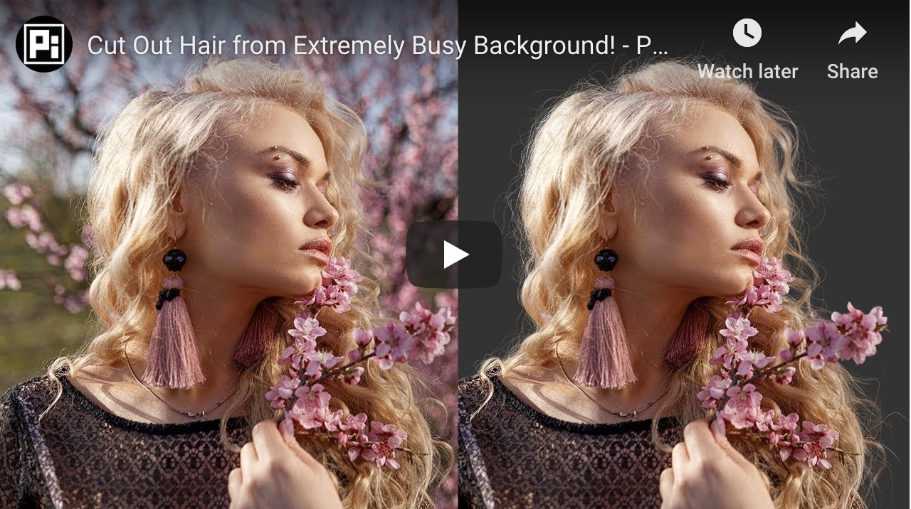 How To Cut Out Hair From A Busy Background In Photoshop