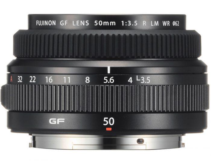 Fujifilm GF 50mm f/3.5 R LM WR Lens Announced