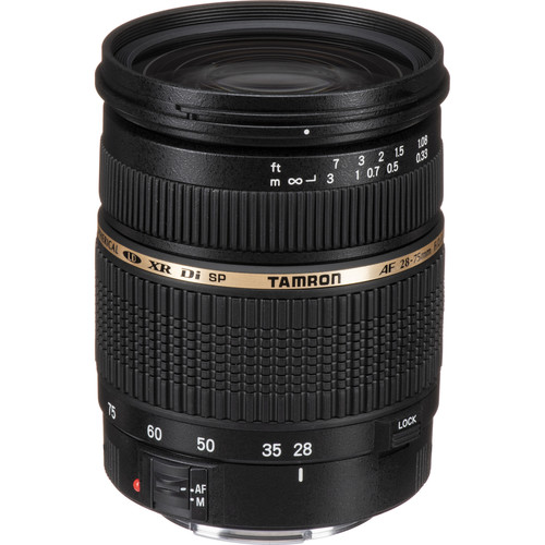 Deal: Tamron SP 28-75mm f/2.8 XR Di Lens for $369