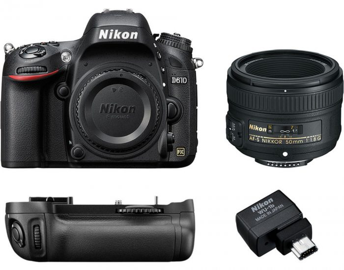 Cyber Monday Deal: Nikon D610 with 50mm f/1.8 Lens Kit for $896