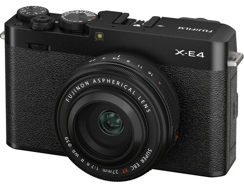 Fuji Unveils X-E4 Camera, along with 27mm f/2.8 and 70-300mm Lenses