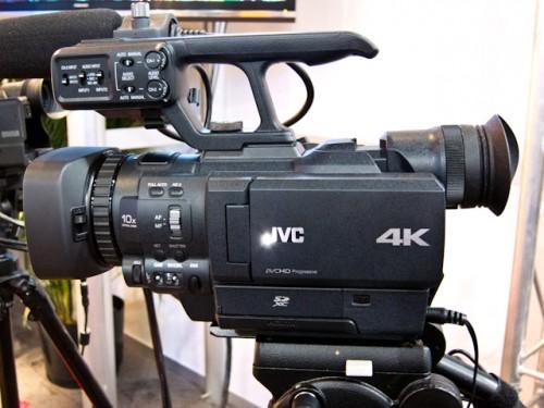 JVC GY-HMQ10 4K Cam