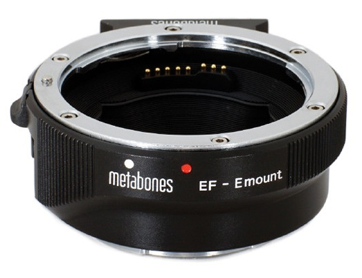 Metabones 4th Gen Canon Ef Lens To Sony E Mount Camera Adapter