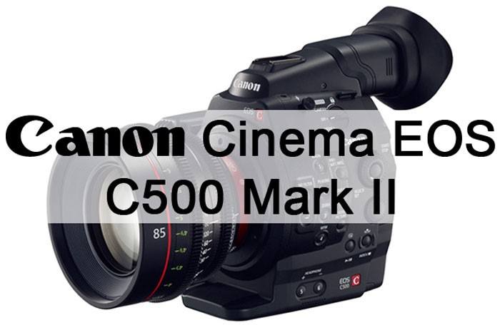 4K Canon Cinema EOS C300 Mark II and C500 Mark II Due in