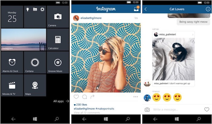 Instagram for Windows 10 Mobile Now Available | Photography Bay