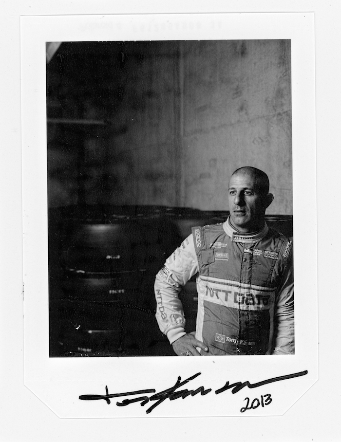 45 Frames of Polaroid 4×5 Film at the Indy 500