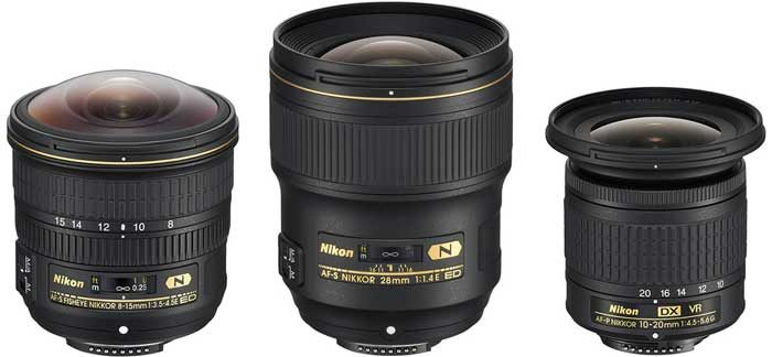 Nikon Unveils 3 New Wide-Angle Lenses | Photography Bay